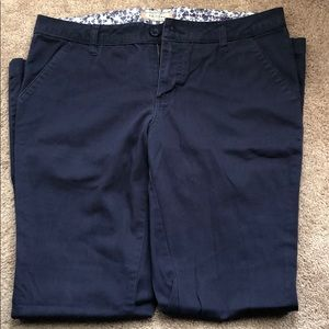 Navy blue khaki style dress pants